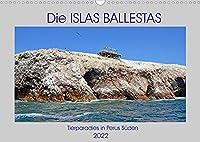 Die ISLAS BALLESTAS, Tierparadies in Perus Sueden (Wandkalender 2022 DIN A3 quer): Bilder von den Lebensraeumen der Guanovoegel in Perus Sueden (Monatskalender, 14 Seiten )