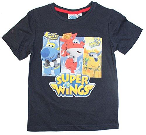 Super Wings shirt in verschillende kleuren (98 - CA. 3 jaar, navy).