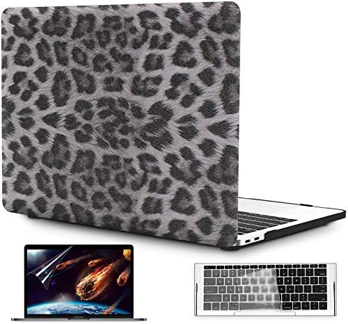 OneGet MacBook Pro 13 inch Case 2016 2017 2018 2019 Release A2159 A1989 A1706 A1708 PU Leopard product image