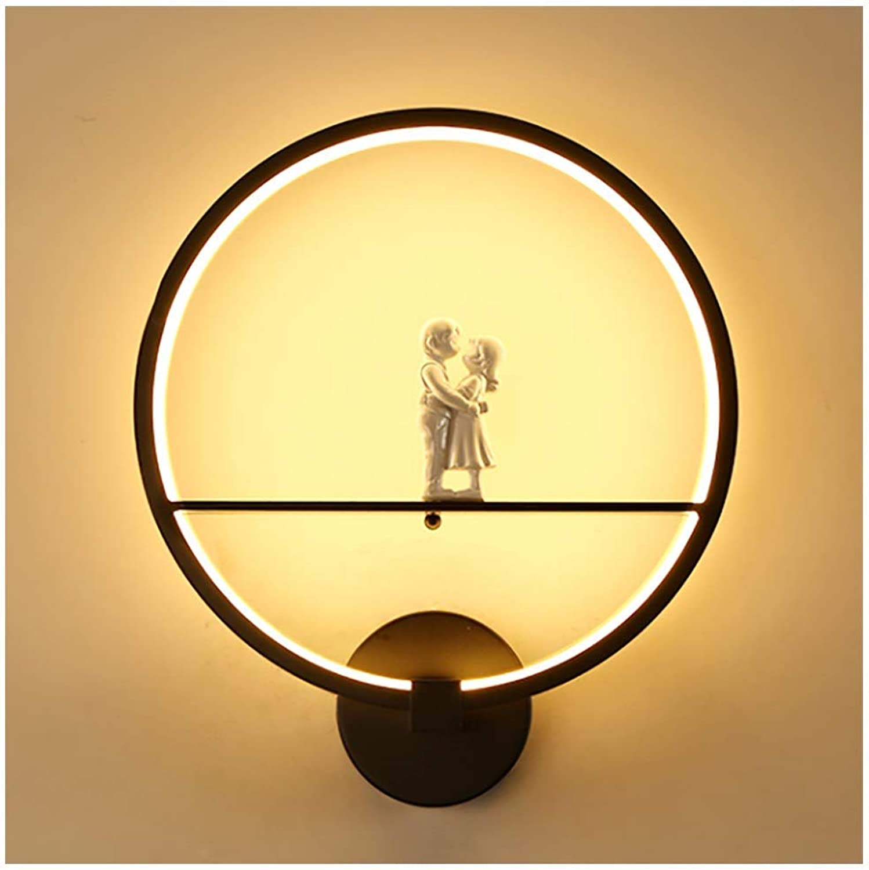 GLP Moderne Minimalistische Led Nachttischlampe Nordic Persnlichkeit Kreative Treppe Gang Korridor Schlafzimmer Wandleuchte Wohnzimmer Wandleuchte Matte Schwarz