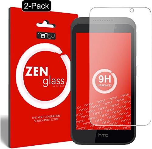 ZenGlass [2 Stück Flexible Glas-Folie kompatibel mit HTC Desire 526G Panzerfolie I Bildschirm-Schutzfolie 9H