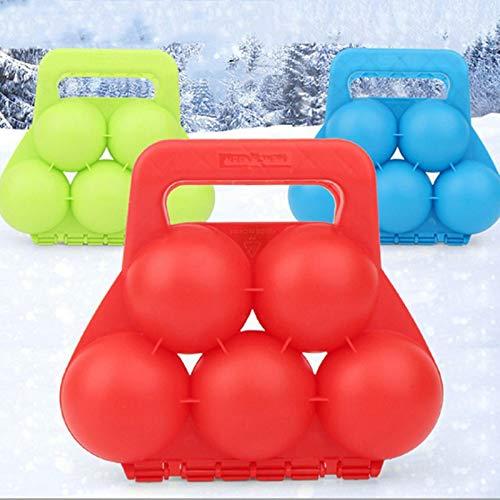 4-teiliges Kinder-Schneeball-Maker und -werfer, Sand-Spielzeug für Kleinkinder, Schnee-Maschine im Freien,...
