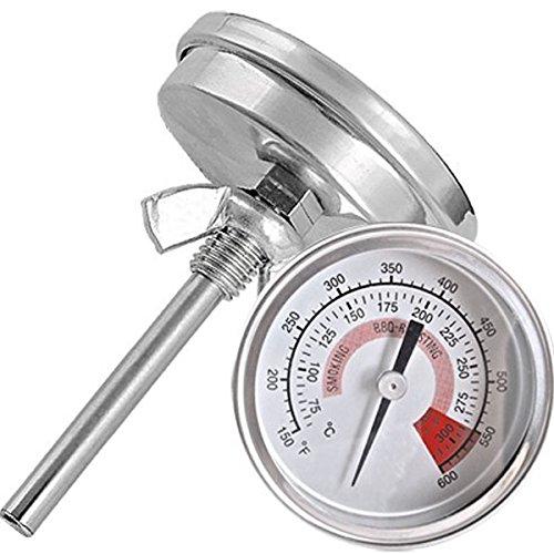 ueetek Temperaturmessgerät industriellen Metall Durchmesser Thermometer Rauchgasthermometer wss-41157mm 300°C 600°F