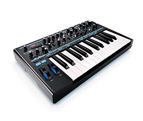 Novation Bass Station II - Teclado MIDI (USB, 2.0, 45,72 cm, 27,3 cm,...