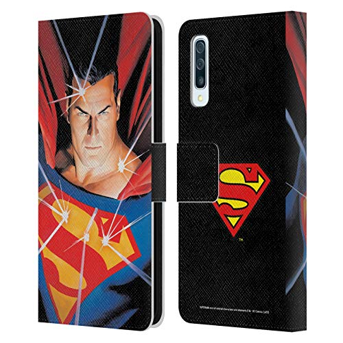 Head Case Designs Officially Licensed Superman DC Comics Alex Ross Mythology Famous Comic Book Covers Leather Book Wallet Case Cover Compatible with Samsung Galaxy A50/A30s (2019)