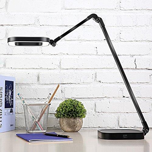 Lampe de table F Lampe de bureau LED 10W Lecture, Lampe de chevet, Commutateur tactile, Gradable, Série: LY-1M