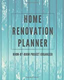 Home Renovation Planner: Log book, Sketchpad,...