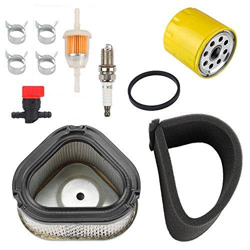 Harbot 12 083 05-S 12 883 05-S1 Air Filter+ 52 050 02-S Oil Filter Tune Up Kit for Kohler Command Pro CV11 - CV16 Engine