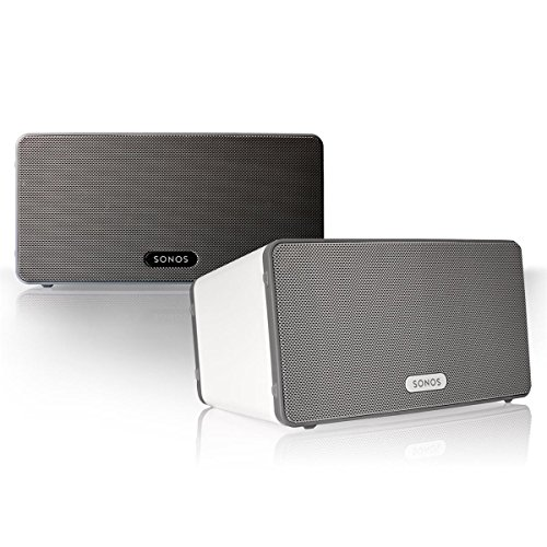 Sonos Play:3 Multi-Room Digital Music System Bundle (2 - Play:3 Speakers) - White