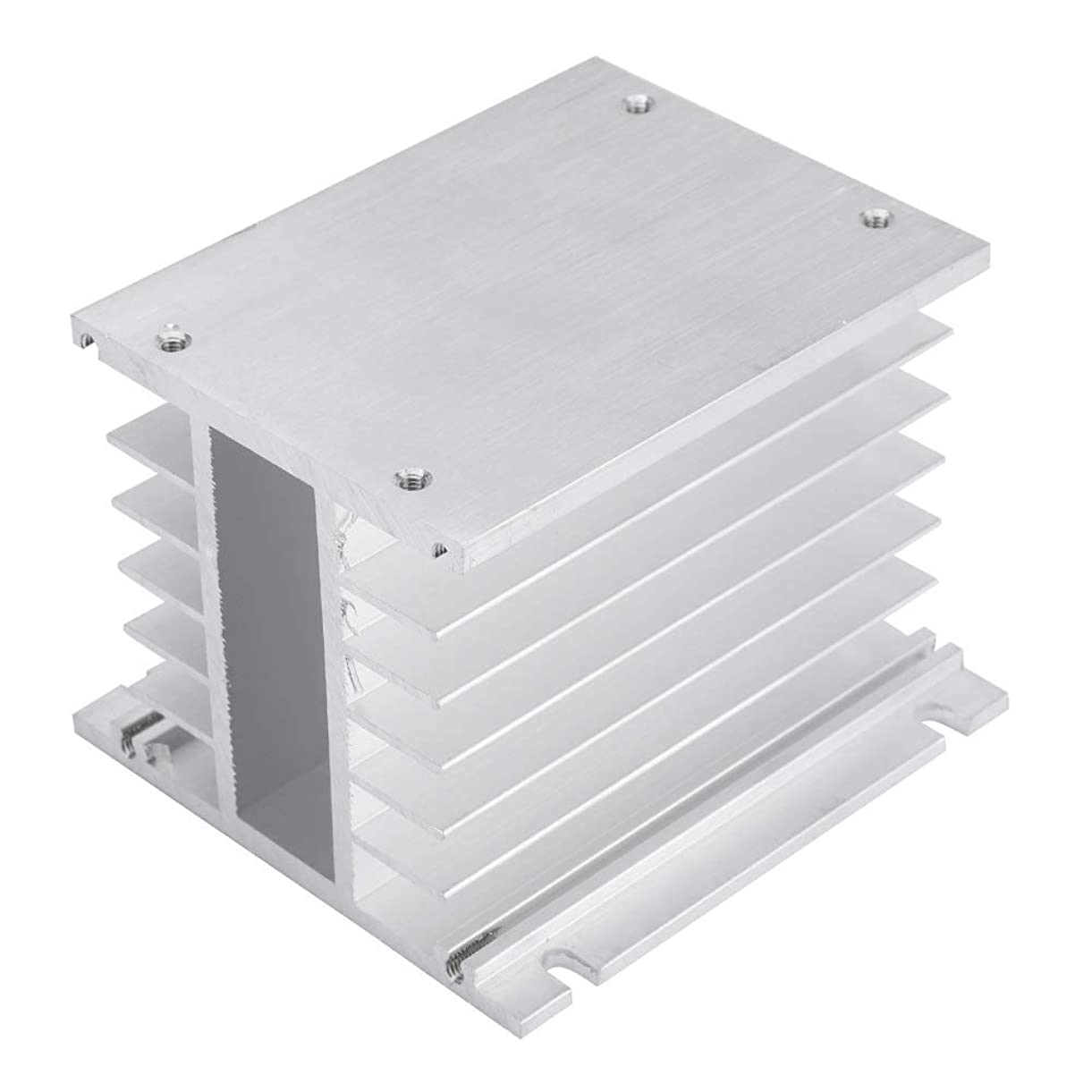 Wolfgo Heat Sink-Three Phase Aluminum Alloy Heat Sink SSR Dissipation Solid State Relay Heatsink hcvvv2726