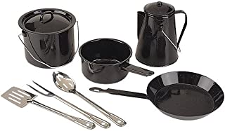 Coleman 8-Piece Enamel Cooking Set
