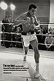 Poster Muhammad Ali - Zitat einer Boxlegende - I'm so fast
