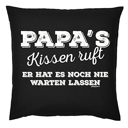 Art & Détail T-shirt Coussin : Papa Dad Père Jour Papas RUFT Il A jamais faire attendre – Comme Présent