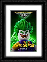 The Lego Batman Movie 18x24 Double Matted Black Ornate Framed Movie Poster Art Print