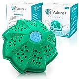 Valere+ Waschball Saubere Wäsche ohne Waschmittel Umweltfreundlich Biologische Waschkugel Bio