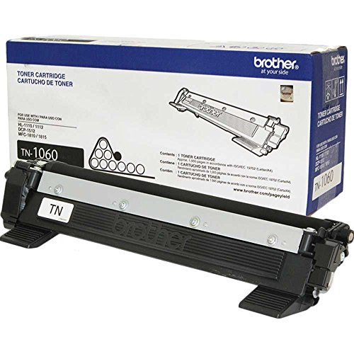 Brother Toner Preto TN-1060 Rendimento 1.000 Paginas