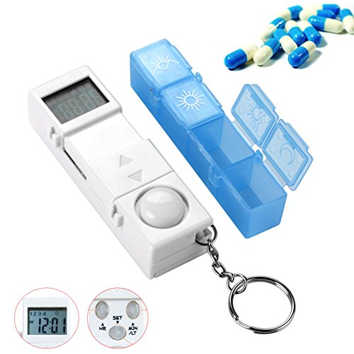 CozyCabin Digital Pill Box Timer Reminder