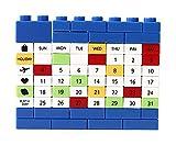 Creative Building Block Puzzle Kalender Ewiger Kalender Mazarine