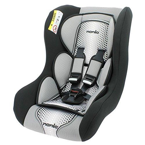 seggiolino nania 9 36 kg seggiolino auto da 0 a 25 kg - Gruppo 0/1/2 - Produzione 100% Francese - Riduttore neonato - 3 stelle Test TCS - poggiatesta e fourreaux per un miglior comfort - cinture di sicurezza a 5 punti