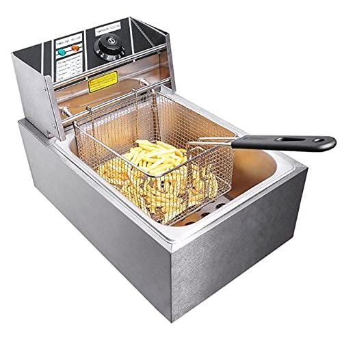Deep Fat Fryer 2500W,Electric Deep Fryer Easy Clean Deep Fryer with Basket...