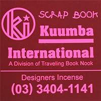 KUUMBA/クンバ『incense』(SCRAP BOOK) (Regular size)