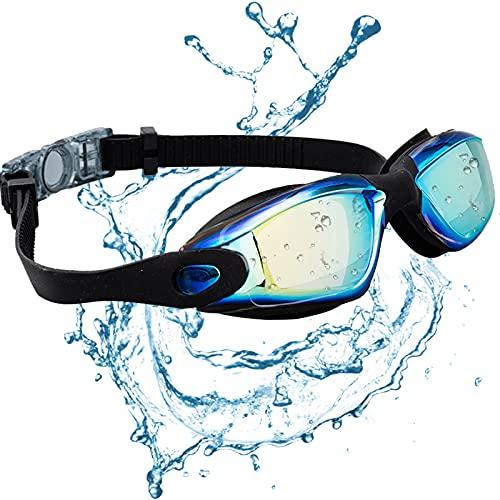 JINPXI Gafas de Natación Antiniebla, Gafas para Nadar Protección UV