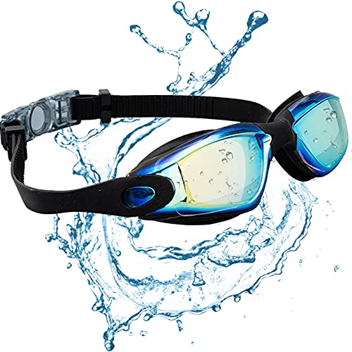 JINPXI Gafas de Natación Antiniebla,...