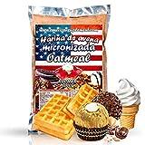 American Suplement - 1000 gr - Harina de Avena Integral, ideal para tortitas, batidos, bizcochos y magdalenas (BOMBON ROCHER)