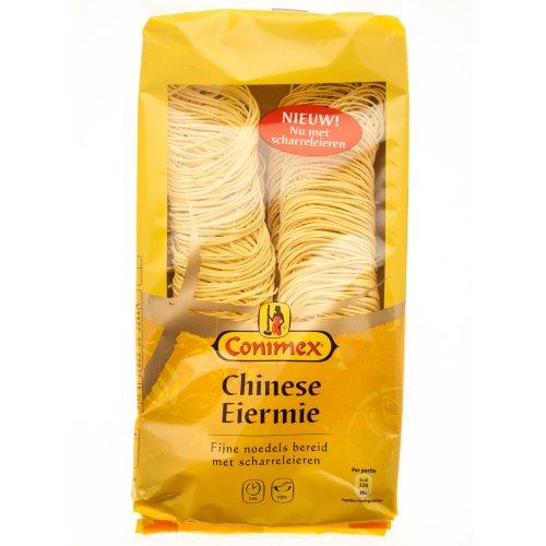 Conimex Chinese eiermie, Chinese eier-pasta, voor wok, wokpasta, 250 g
