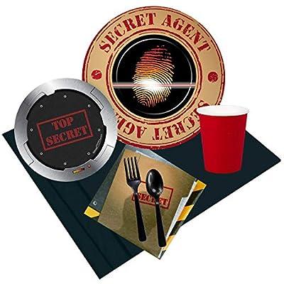 spy birthday party supplies
