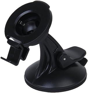 LEORX Verstelbare 360 graden roterende zuignap houder standaard autohouder voor Garmin Nuvi Raps (zwart)