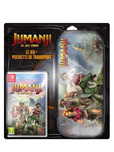 Jumanji Le Jeu Vidéo Game + Housse Protection Console - Nintendo Switch...