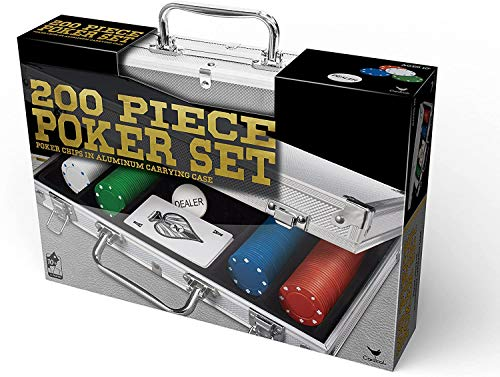 Poker set man cave game