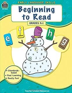 Beginning to Read: Grades K-1 (Early Language Skills)