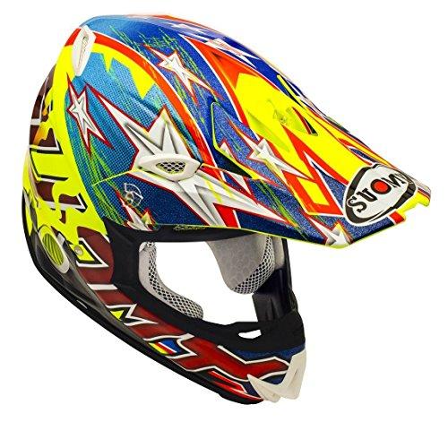 SUOMY スオーミー MR. Jump Shots Helmet 2016モデル オフロード ヘルメット イエロー M(57~58cm)