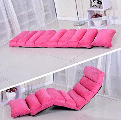Simple Banquette avec Pliable Sofa170 * 58cm (Couleur : Pink, Taille : 170 * 58cm)