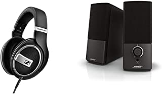 【セット買い】ゼンハイザー オープン型ヘッドホン HD 599 SE【国内正規品】 & Bose Companion 2 Series III multimedia speaker system PCスピーカー
