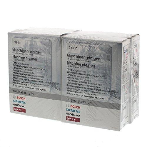 Bosch 00311581 Vorteilspaket 4x Reiniger für Geschirrspüler / 200 g