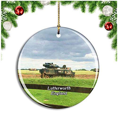 Weekino Lutterworth Armourgeddon Reino Unido Inglaterra Decoración de Navidad Árbol de Navidad...