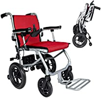 DASH - Ultra Lite - Folding Electric Wheelchair - Weighs only 30 lbs - Ships from Canada - Airline Safe (Single Battery...