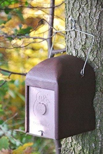 Naturschutzprodukt Schläferkobel Typ 1KS räubersicher Einschlupfloch 40 mm Nisthilfe Nisthöhle Vogelhaus