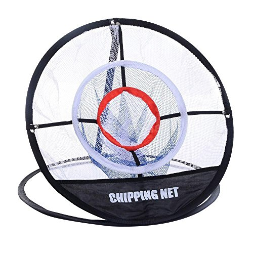 Runytek Golf Chipping Net 3-Layer Practice Net for Outdoor Indoor Backyard, Easy to Carry and Foldable