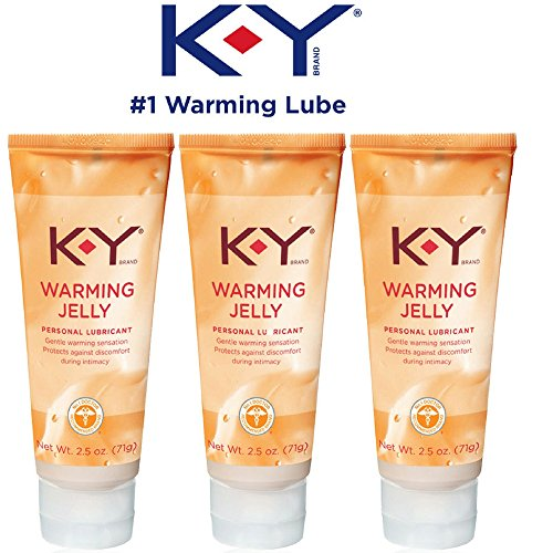 K-Y Warming Jelly Personal Lubricant, 2.5 oz (Pack of 3)