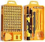 Juego de herramientas magnéticas 115/32 en 1 conjunto de herramientas de herramientas PRECISION Combinación de bits magnéticos Juego de herramientas de reparación Mini set Purple 115 en 1 Kit de herra