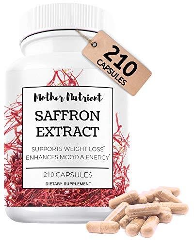 Saffron Supplements - 210 Capsules of Saffron...