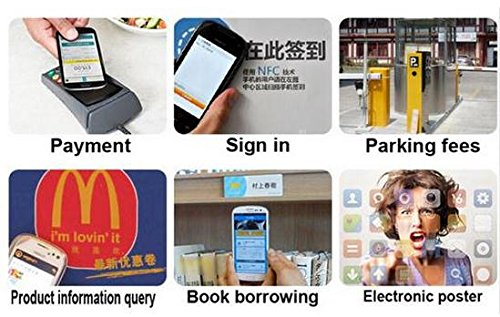 Diybigworld 10pcs/Lot NFC TAG Sticker 13.56MHz ISO14443A NTAG 213 NFC Sticker Universal Lable RFID Tag for All NFC Enabled Phones Sensor