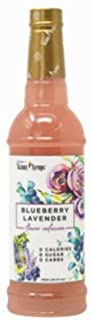 Jordans Skinny Syrups Sugar Free Blueberry Lavender Syrup Healthy Flavors with 0 Calories, 0 Sugar, 0 Carbs 750ml/25.4oz B...