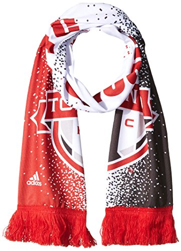 MLS Toronto FC Adult MLS SP17 Fan Wear Sublimated Scarf with Fringe,Osfa,Red