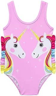 Swimsuit Bathing Suits One Piece Swimwear Unicorn Bikini for Girls Pool Beach Kids Toddler Clothing