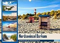 Nordseeinsel Borkum - Inselrausch im Hochseeklima (Wandkalender 2022 DIN A3 quer): Beeindruckende Facetten einer traumhaften Insel. (Monatskalender, 14 Seiten )